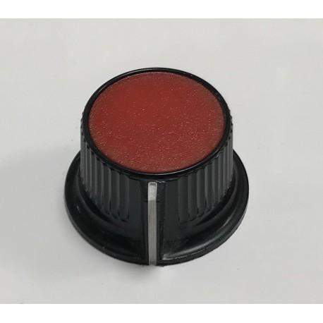 Botón rojo potenciómetro