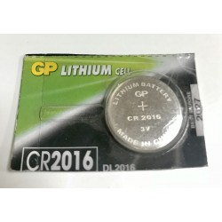 Pila botón Alcalina Lr44 A76 1.5 V CR2016