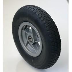 Rueda 400.8 C/R bolas nylon gris Deli