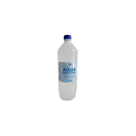 Garrafa agua destilada para baterías 1 litro