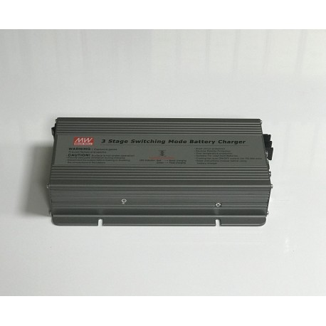 Cargador eléctrico 24 V 12 A