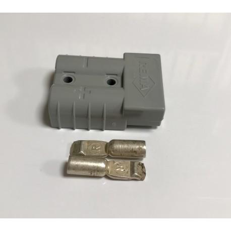 Conector de carga rápido gris 50 A