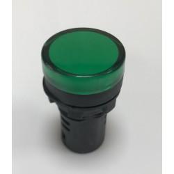 Led verde 22 mm 12 v TZ
