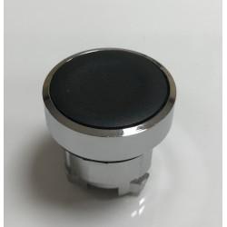 Pulsador negro 2 mm s/ enclavamiento