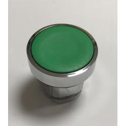 Pulsador verde 22 mm s/ enclavamiento