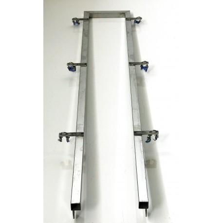 Arco trasero inox para barra pulverización TZ