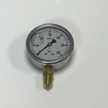 Manómetro glicerina inox 0-6